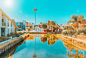 One of the most beautiful district of Los Angeles - is Venice. California