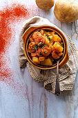Hungarian Potato Goulash Stew