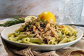 Mediterranean Dill Chicken Pasta