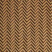 Cork material texture with chevron herringbone pattern