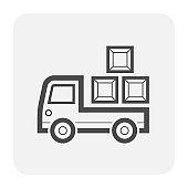 trailer icon black