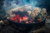Summer Camp Fire Pit