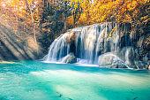 erawan waterfall thailand