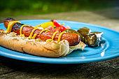 Grilled Hotdog Forest