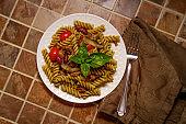Italian Rotini Alla Pesto