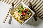 Mexican Black Bean Pasta Salad