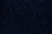 Starry night sky, stars background, abstract stellar view