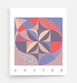 Cover design template. Abstract colorful geometric design. Vector illustration. Can be used for advertising, marketing or presentation.