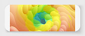 Abstract liquid background. Swirled paint. Digital paint vortex. 3d vector illustration.