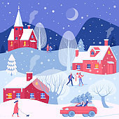 Christmas winter activities