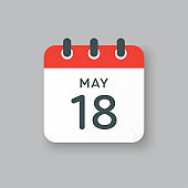 Calendar day 18 May, days of the year