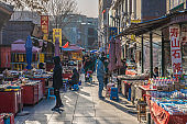 Traditional antique market in Tianjin