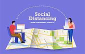 Covid-19 Social Distance 12
