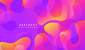 Moving colorful abstract background. Dynamic Effect. Vector Illustration. Design Template.