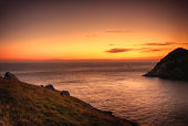 sunrise of maemuldo island, Tongyeong, Gyeongnam, south Korea, Asia