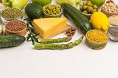 Alkaline foods. Sources of omega 3