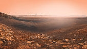 Surface of planet Mars
