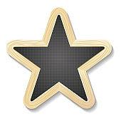 Star shaped slate