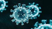 Abs 2019-nCoV virus hologram