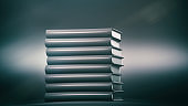 blank Books stack