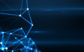 Abstract technology big data background concept