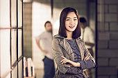 portrait of a successful female entrepreneur