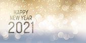 Decorative Happy New year banner design