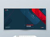 Square Brochure Design. Red Cover Template for Brochure, Report, Catalog, Magazine. Modern Brochure concept
