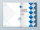 Brochure template layout design. Corporate business annual report, catalog, magazine, flyer mockup. Creative modern background concept in abstract flat style shape