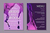 Modern abstract luxury wedding invitation design or card templates for birthday greeting or certificate or cover.