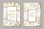 Modern luxury wedding invitation design or card templates for business or presentation or greeting.