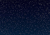 Stars or space on a dark blue background.