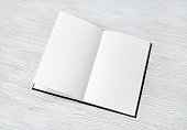 Booklet with blank pages