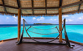 lazing in maldivian atoll