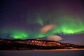 Aurora Borealis, Langvannet, Alta, Norway
