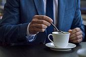 Coffee break as a great way to reboot travelers energy