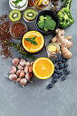 Healthy products for immunity stimulation and viruses protection.