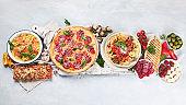 Traditional Italian foods