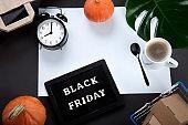 Promotion composition Black friday sale.