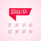 Discount Special Offer up to 55% off Label Vector Template Design Illustration
