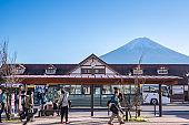 kawaguchiko station is a train and bus station