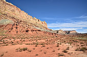 Golden Throne at Capitol Reef NP