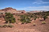 Capitol Reef National Park Scenery