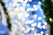 Bokeh Lights Abstract Background