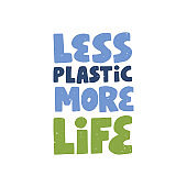 Environment and ecology protection saying. Zero waste quote