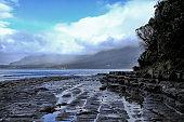 Coastline Nature Tasmania Geology Tessellation Landscape