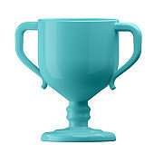 3D illustration. Cup in cartoon style not white background. Well suited for a landing page, mobile app, or website.