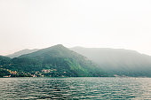 Como Lake and Alps in Italy