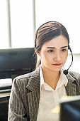 Call Center working