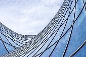 Abstract modern architecture facade